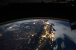 Timelapse view from space