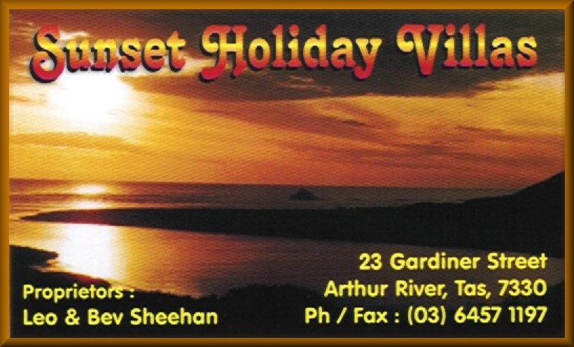 Sunset Holiday Villas Owned and operated by Leo & Bev Sheehan