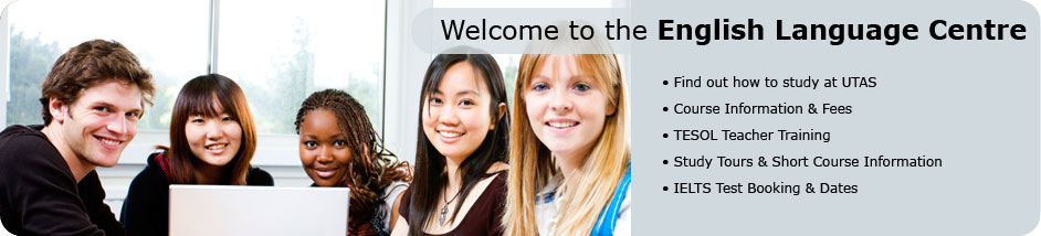Welcome to English Language Centre