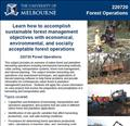 Forest Operations Course flyer image thumb