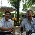 Chris Harwood with vietnamese colleague