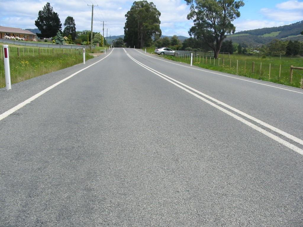 An example of how the road will look after the works