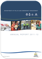 Cover page for Annual Report 2011-2012 document