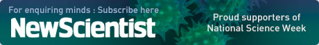 For enquiring minds : Subscribe here newscientist Proud supporters of  National Science Week