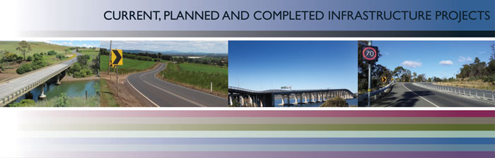 Current, Planned and Completed Infrastructure Projects