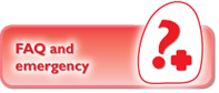 FAQ and Emergency information