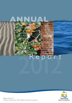 Annual Report 2012 Front Cover