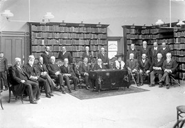 Hobart library staff