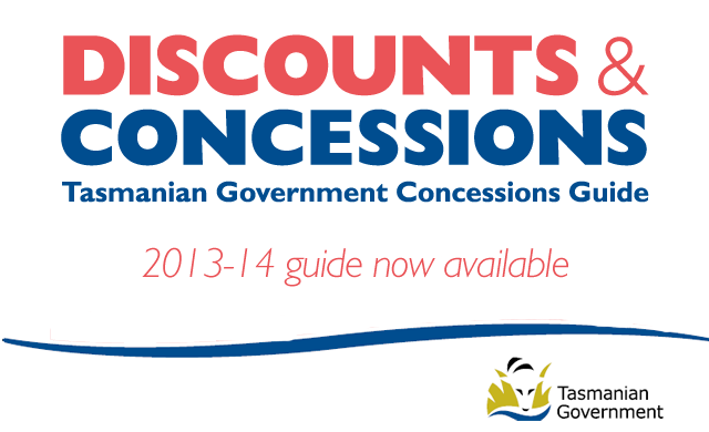 Discounts and Concessions Guide 2013/14