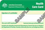 Department of Human Services Health Care Card