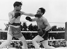 Boxing Tournament in Aid of King George's Fund For Sailors at the Royal Naval Air Station, Henstridge, Somerset, July 1945 A29806.jpg