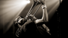 Trombone Shorty in action