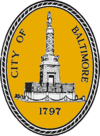 Official seal of Baltimore