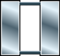 two silver vertical bars
