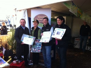 Competition winners at the 2012 Schools AGFEST competition held by TWiA.
