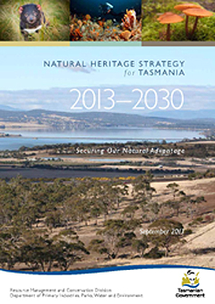 Natural Heritage Strategy 2013 - cover