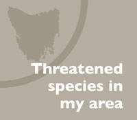 Find threatened species in your area