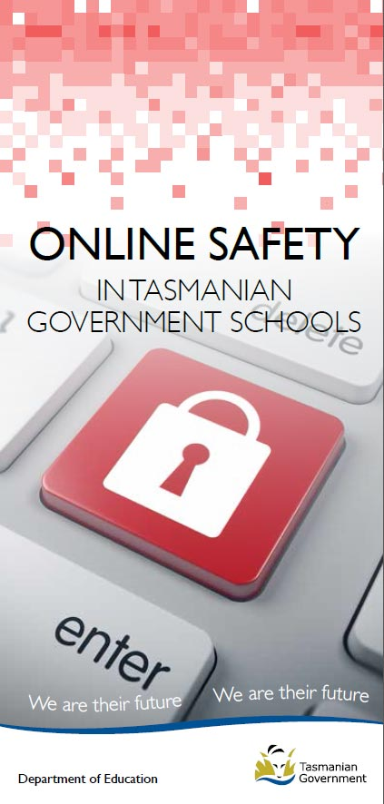 Online Safety in Tasmanian Government Schools - printable brochure