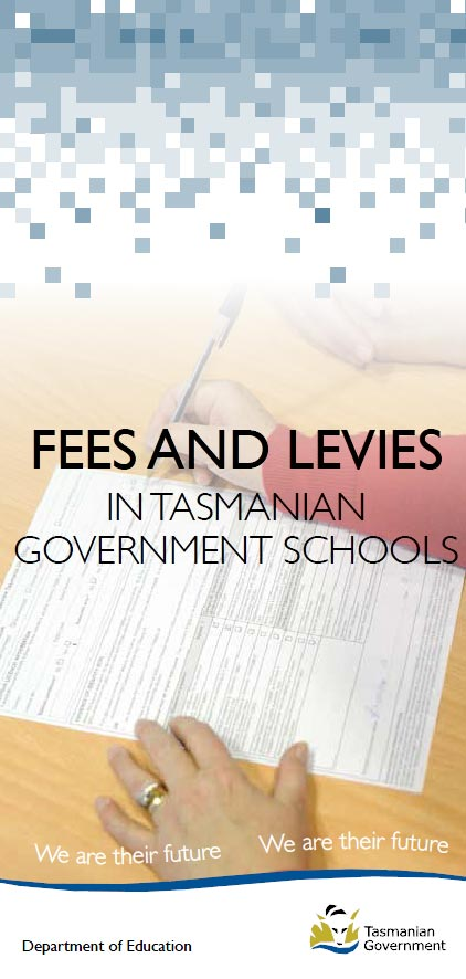 Fees and Levies in Tasmanian Government Schools