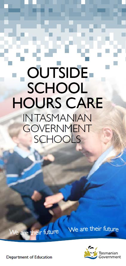 Outside School Hours Care in Tasmanian Government Schools