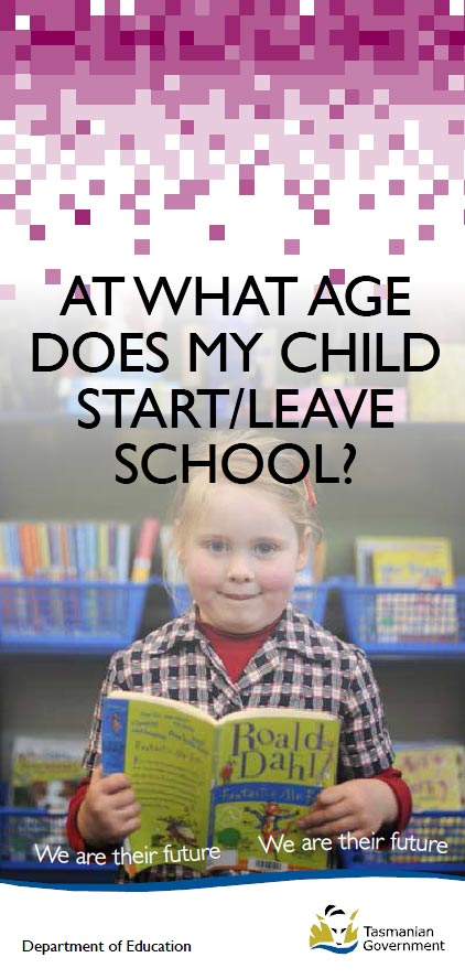 At What Age Does My Child Start-Leave School printable brochure
