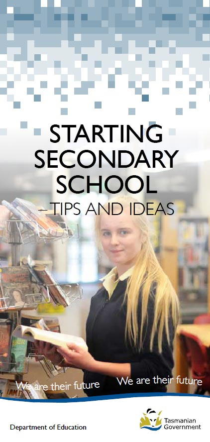 Starting Secondary School - tips and ideas