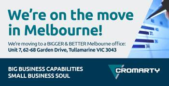 We are on the Move in Melbourne!