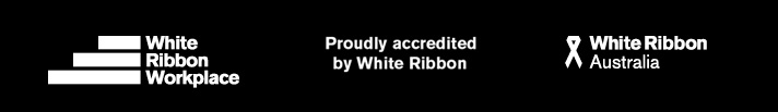 In Support of White Ribbon Logo